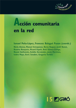 Book cover for Acción comunitaria en la Red