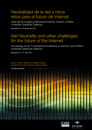 Book cover for: Proceedings of the 7th International Conference on Internet, Law & Politics