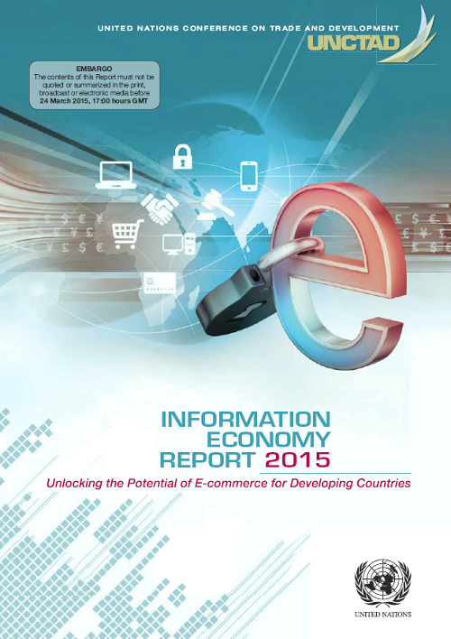 Cover of UNCTAD Information Economy Report 2015