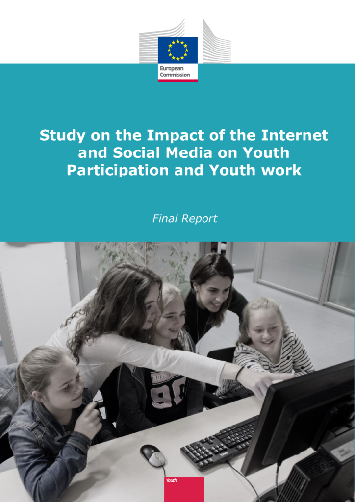 Cover of the Study on the Impact of the Internet and Social Media on Youth Participation and Youth work