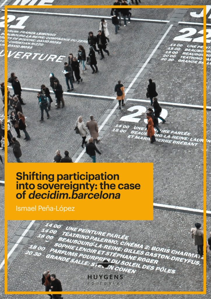 Book cover of Shifting participation into sovereignty: the case of decidim.barcelona