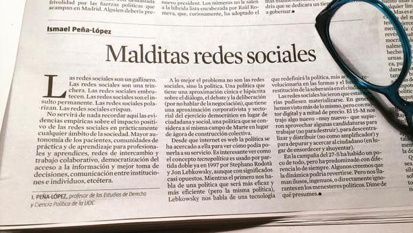 Fotografía del artículo original en La Vanguardia